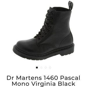 Dr Martens 1460 Pascal Mono Virginia Black